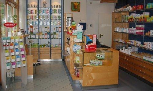Farmacia-estanterías